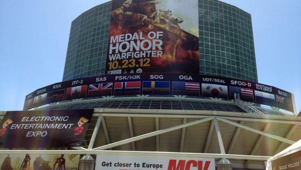 E3 entrance 2012