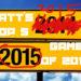 GOTY 2015 Matt's Top 5